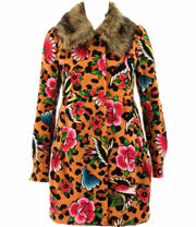 Iron Fist Lounge Leopard Coat (Brown)