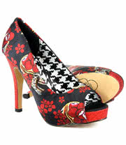 Iron Fist Slow Dance Platform Shoes (Multi-Coloured)