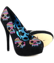 Iron Fist Sugar Hiccup Platform Shoes (Black)