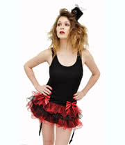 Jawbreaker Mini Tutu (Black/Red)