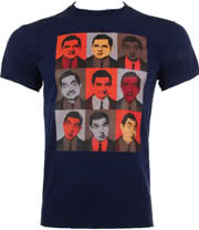 Mr Bean 9 Beans T Shirt (Navy)