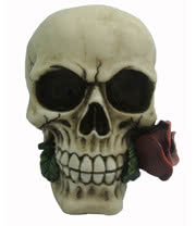 Nemesis Now Rose From The Dead Skull 15cm