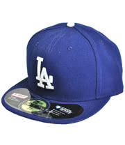 New Era LA Dodgers Basic Hat (Blue)