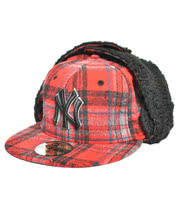 New Era Plaid Dogear Hat