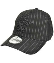 New Era Royal Pinstripe Cap (Black)