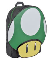Nintendo 1 Up Mushroom Backpack (Green)