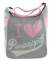 Pineapple Footloose Cross Body Bag (Grey)