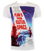 Plan 9 From Outer Space T Shirt (White)