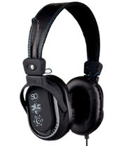 Skullcandy Decibel Collection Agent Carbon Headphones (Black)