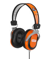 Skullcandy Decibel Collection Agent Galactica Headphones (Orange)