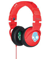 Skullcandy Decibel Collection Hesh Athletic Headphones (Red)
