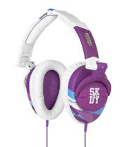Skullcandy Decibel Collection Skullcrusher Headphones (Purple/White)
