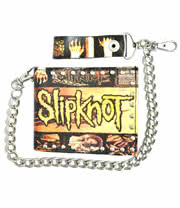 Slipknot Wallet with Chain (Yellow/Black)