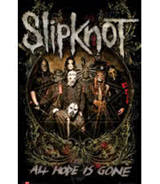Slipknot All Hope Is Gone Poster
