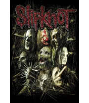 Slipknot Masks Poster