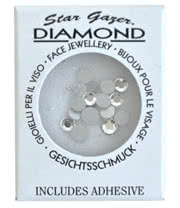 Stargazer Face Diamonds (Silver)