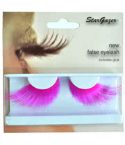 Stargazer Long Pink False Eyelashes (Pink)