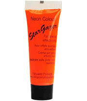 Stargazer Tube of Neon Special Effects Face and Body Paint (Orange)
