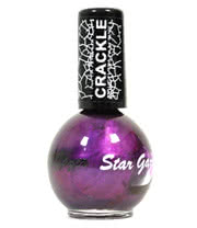 Stargazer No. 606 Crackle Nail Polish (Purple)
