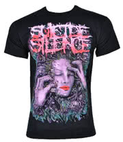 Suicide Silence Sleep T Shirt (Black)