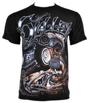 Sullen Garage Ink T Shirt (Black)