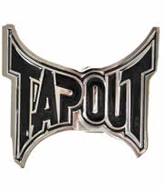 Tapout OG Logo Belt Buckle (Silver/Black)