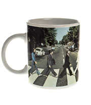 The Beatles Abbey Road Mug (White)