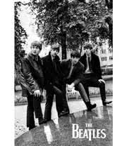 The Beatles Pose Poster
