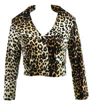 Voodoo Vixen Natural Leopard Jacket (Gold)