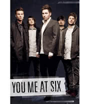 You Me At Six Tape Poster