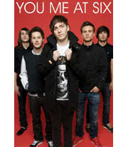 You Me At Six The Band Poster