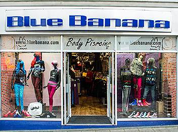 Find opening times for Blue Banana - Plymouth in 18 Cornwall Street, Devonport, Plymouth, Devon, PL1 1LP and check other details as well, such as: map, phone number, website.
